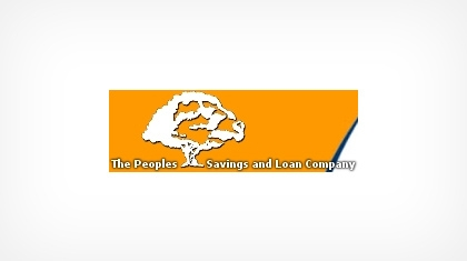 The Peoples Savings and Loan Company Logo