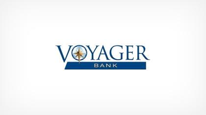 Voyager Bank logo