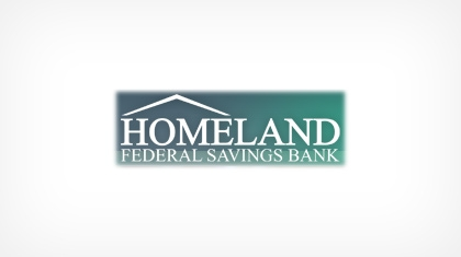 Homeland Federal Savings Bank logo