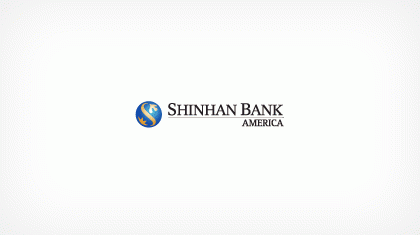 Shinhan Bank America Logo
