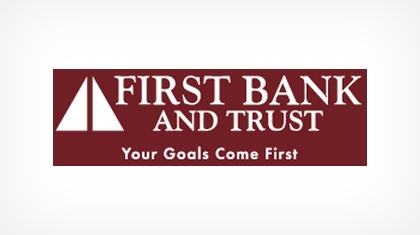 First Bank and Trust logo