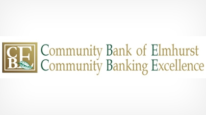 Community Bank of Elmhurst logo