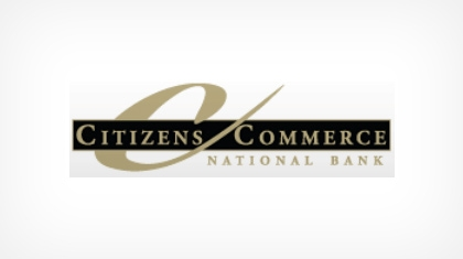 Citizens Commerce National Bank Logo