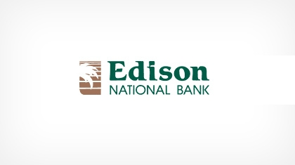 Edison National Bank Logo