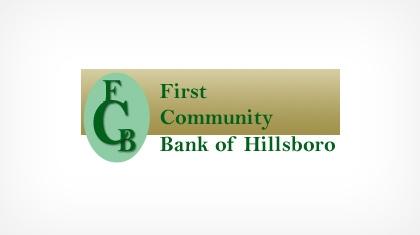 First Community Bank of Hillsboro logo