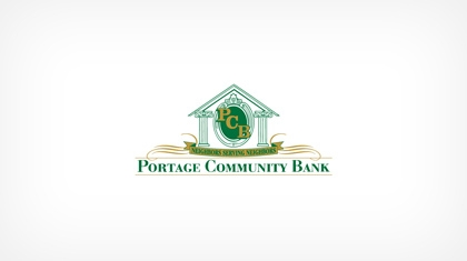 Portage Community Bank logo