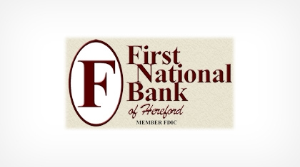 First National Bank of Hereford logo