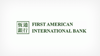First American International Bank logo