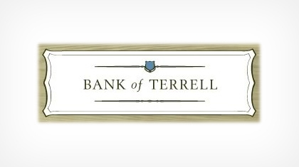 Bank of Terrell logo
