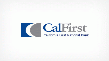 California First National Bank Logo