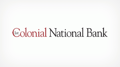 1st Colonial National Bank logo