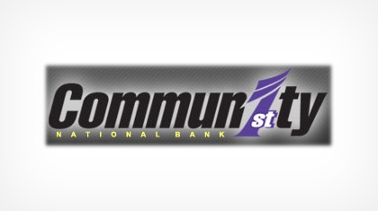 Community First National Bank logo