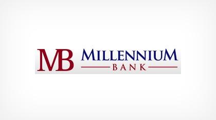 Millennium Bank (Junction City, KS) Logo