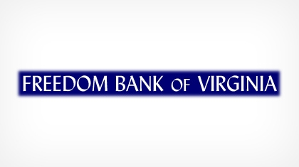 The Freedom Bank of Virginia logo