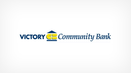 Victory Community Bank logo