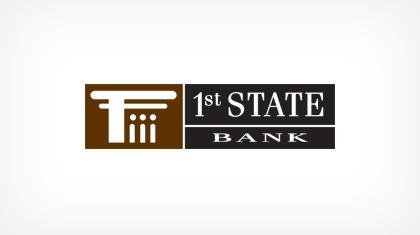 1st State Bank logo