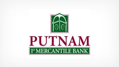 Putnam 1st Mercantile Bank Logo