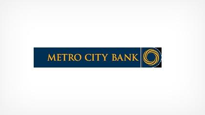 Metro City Bank logo