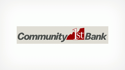 Community 1st Bank (58191) logo
