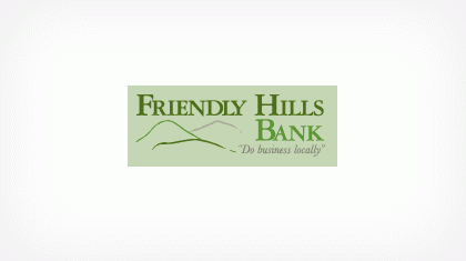 Friendly Hills Bank logo