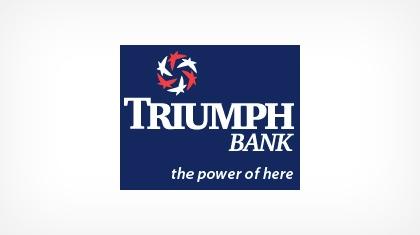 Triumph Bank logo