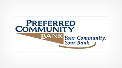 Preferred Community Bank logo