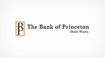 The Bank of Princeton logo