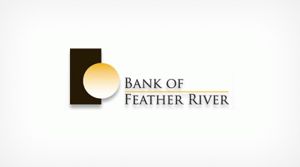 Bank of Feather River Logo