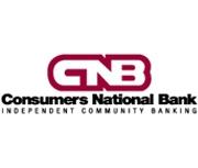 Consumers National Bank logo