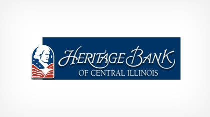 Heritage Bank of Central Illinois logo