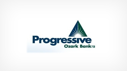 Progressive Ozark Bank, Federal Savings Bank logo