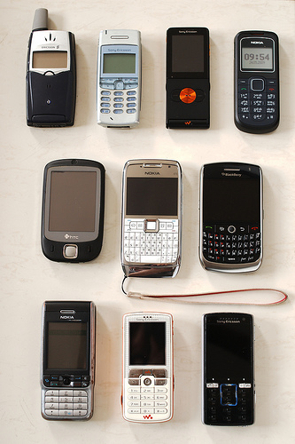 Set of phones