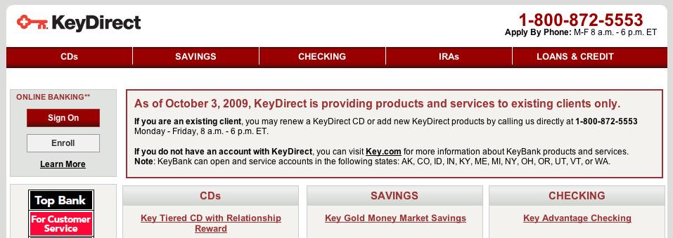 Keydirect
