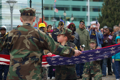 Veterans Day Parade - Photo by Wigwam Jones