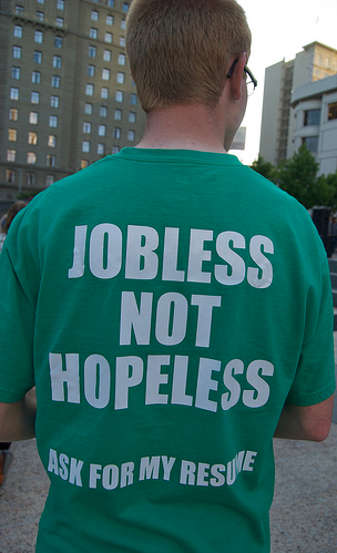 Jobless not hopeless photo by Steve Rhodes