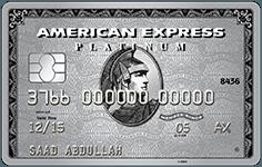Amex Platinum Charge