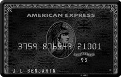 Amex centurion card