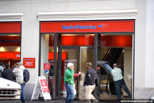 Bank of America Branch NY
