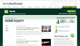 TD Bank Opens Home Equity Education Portal on MyBankTracker.com