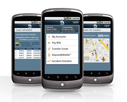 USAA Mobile Banking App Goes Android