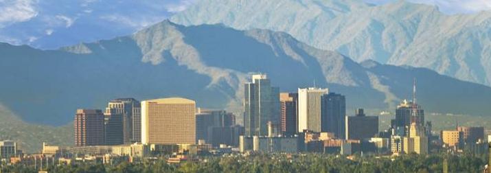 Phoenix, Arizona downtown photo