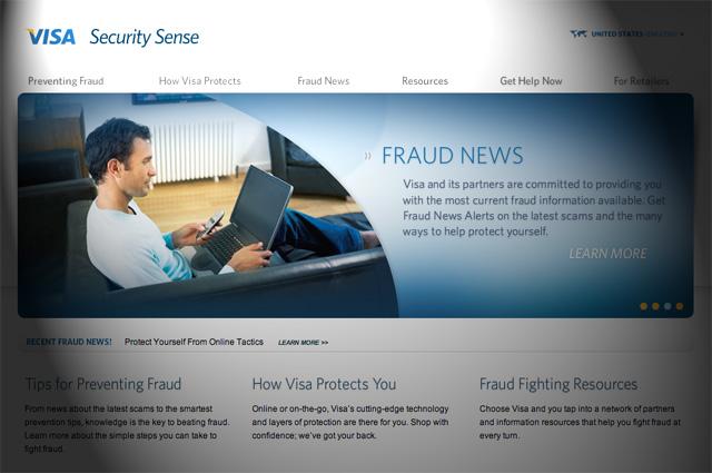 Visa Security Sense
