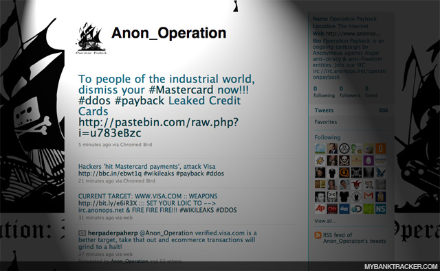 Anon Operation Twitter account