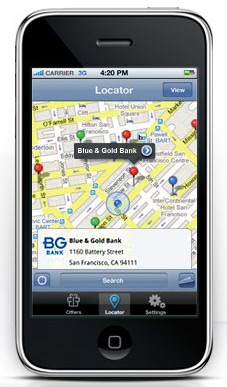 Visa Mobile App Locator