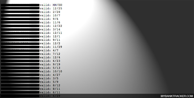 MasterCard Credit Card numbers leaked Wikileaks