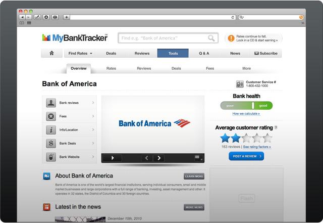 Bank of America® profile