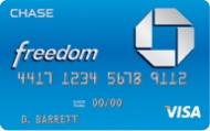 Chase Freedom Visa Credit Card
