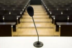 speech announcment