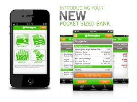 Huntington Bank Launches Mobile Banking iPhone and Android Apps