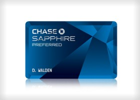 Chase Sapphire Preferred card featured